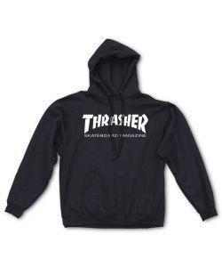 Thrasher Skate Mag Black Ανδρικό Φούτερ Κουκούλα