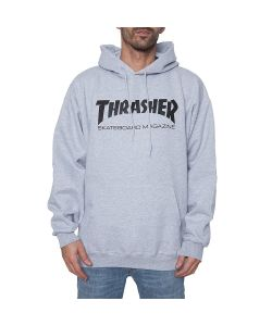 Thrasher Skate Mag Grey Ανδρικό Φούτερ Κουκούλα