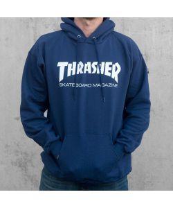 Thrasher Skate Mag Navy Ανδρικό Φούτερ Κουκούλα