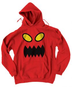 Toy Machine Monster Face Red Men's Hoodie
