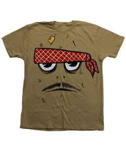 Toy Machine Poo Poo Head Face Brown Ανδρικό T-Shirt