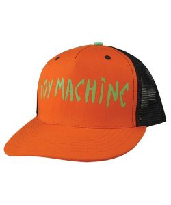Toy Machine Sect Eye Ii Mesh Orange Hat