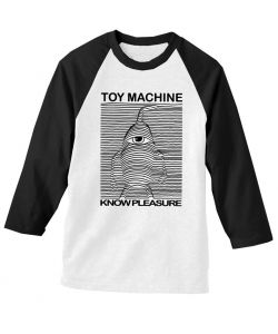 Toy Machine Toy Division Black Raglan