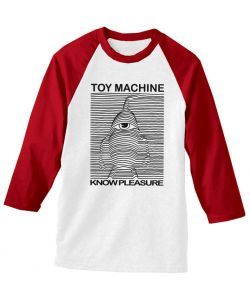 Toy Machine Toy Division Red Raglan