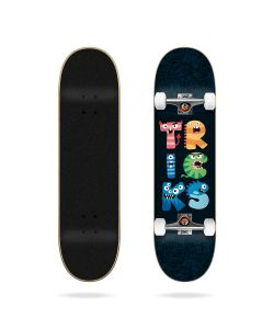 "Tricks Monsters 7.25"" Complete Skateboard"