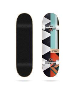 "Tricks Pattern 7.87"" Complete Skateboard"