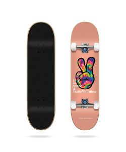 "Tricks Peace 7.75"" Complete Skateboard"