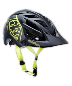 Troy Lee Designs A1 Drone Matte Yellow Helmet