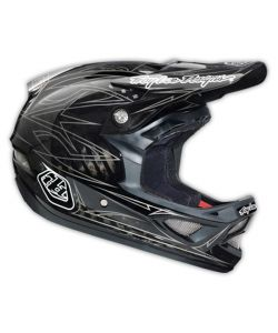 TROY LEE DESIGNS D3 PINSTRIPE II CARBON BLACK ΚΡΑΝΟΣ