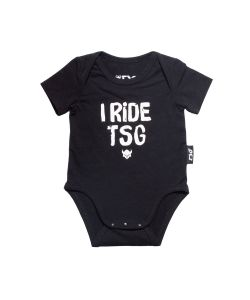 TSG Baby Body I Ride TSG Black Παιδικό Φορμάκι