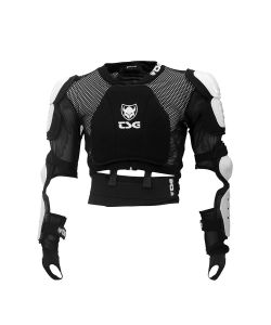 TSG BACKBONE-VEST HONEYCOMB BLACK WHITE ΠΡΟΣΤΑΤΕΥΤΙΚΟ
