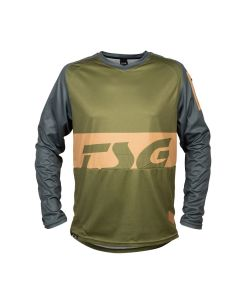 TSG Breeze Jersey Ls Forest Green
