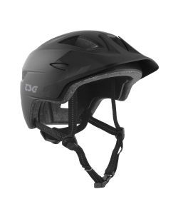 TSG Cadete Solid Color Satin Black Youth Helmet
