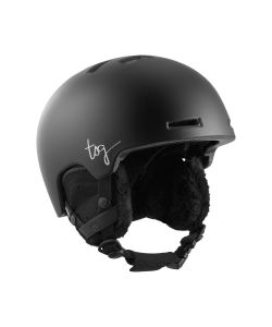 TSG Cosma Solid Color Satin Black Women's Helmet