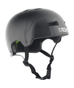 TSG Evolution Injected Color Injected Black Helmet
