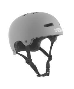 TSG Evolution Solid Color Satin Coal Helmet