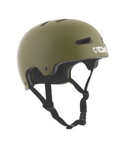 TSG Evolution Solid Color Satin Olive Helmet