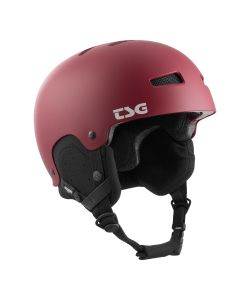 TSG Gravity Solid Color Satin Grape Red Helmet