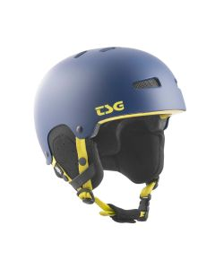 TSG Gravity Youth Solid Color Satin Dark Blue Youth Helmet