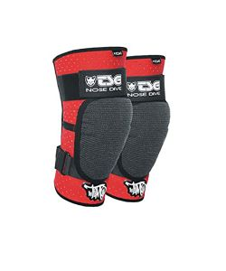 TSG Kneeguard Nose Timo Black Red