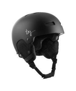 TSG Lotus Solid Color Satin Black Women's Helmet