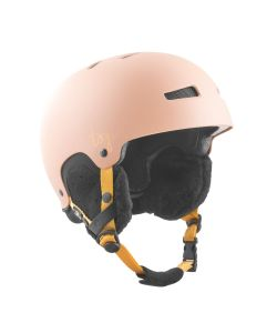 TSG Lotus Solid Color Satin Dark Peach Women's Helmet