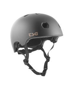 TSG Meta Solid Color Satin Black Helmet