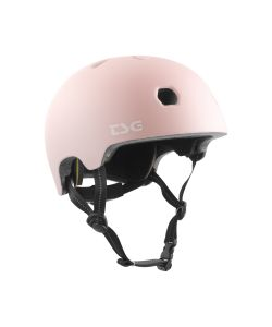 TSG Meta Solid Color Satin Macho Pink Kids Helmet
