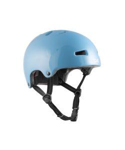 TSG Nipper Mini Solid Color Gloss Baby Blue Kid's Helmet