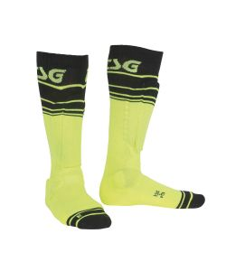 TSG Riot Yellow Stripped Sock