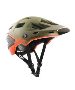 TSG Scope Graphic Design Army Moss Orange Helmet