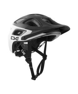 TSG Seek Graphic Design Block White Black Helmet