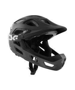 TSG Seek Youth FR Graphic Design Flow Grey Black Kid's Helmet