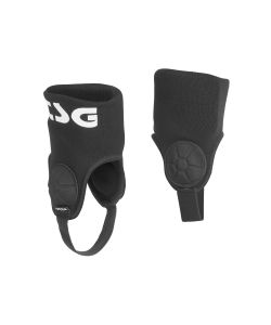 TSG Single Ankle Guard Cam Black