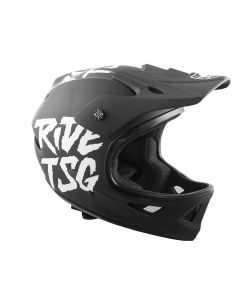 TSG Squad Graphic Design Black Ripped Helmet