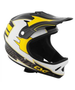 TSG Staten Graphic Design Arrow Black-Yellow Helmet