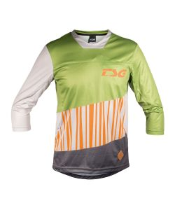 TSG SWAMP JERSEY LS 3/4 OLIVE ACID ORANGE