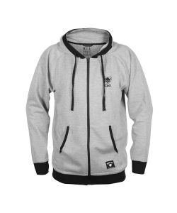 TSG Sweatshirt Classic Heather Grey Zip Hoodie