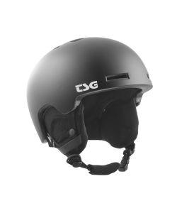 TSG Vertice Solid Color Satin Black Κράνος