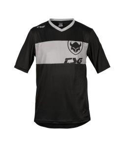 TSG Waft Black Grey Jersey