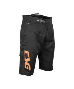 TSG Worx Black Orange Shorts