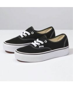 Vans Authentic Platform 2.0 Black Women's Shoes