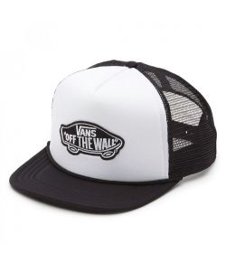 Vans Classic Patch White Black Trucker