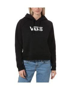 Vans Flying V Boxy Black Women's Hoodie