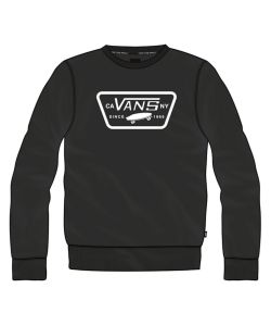 VANS FULL PATCH CREW II BLACK ΦΟΥΤΕΡ
