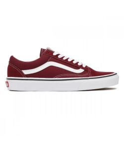 VANS OLD SKOOL BURGUNDY TRUE WHITE ΠΑΠΟΥΤΣΙΑ