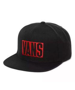 Vans Stax Snapback Black Hat