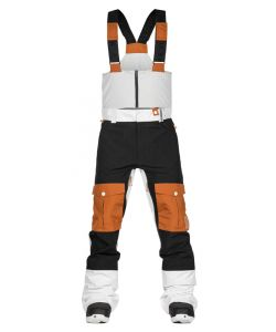 WEARCOLOUR FALK WHITE SNOW BIB PANT