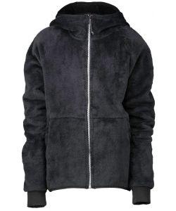Wearcolour Flow Black Kids Zip Hood
