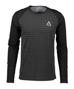 WEARCOLOUR GUARD LS JERSEY BLACK HERRINGBONE ΙΣΟΘΕΡΜΙΚH ΜΠΛΟΥΖΑ